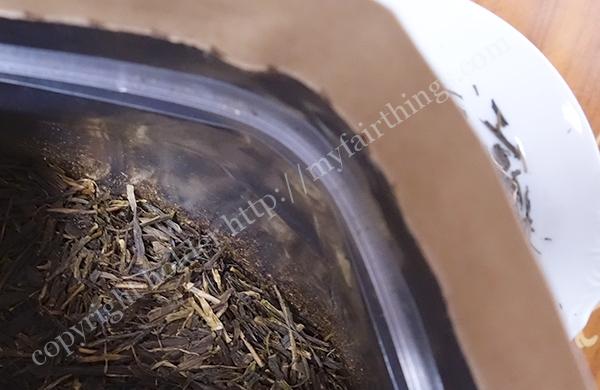 無農薬ほうじ茶の茶葉