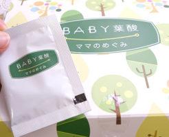 baby葉酸箱と小袋