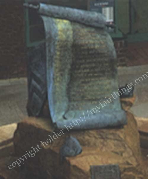 マグナカルタの記念碑