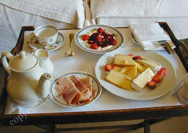 ハムとチーズの朝食