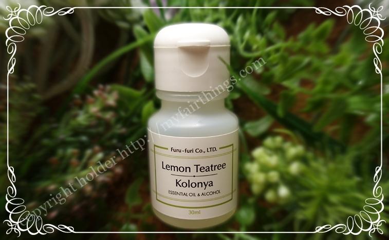 コロンヤ・レモンの香りの手指消毒剤