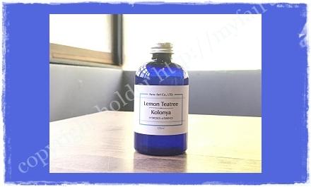 ノンアルコールタイプの除菌剤コロンヤ
