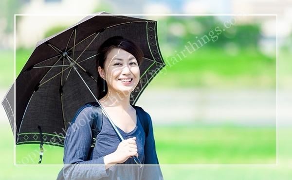 美肌効果のある日傘