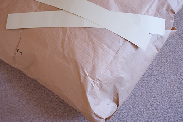 アクアゴールドウォッシュの梱包資材