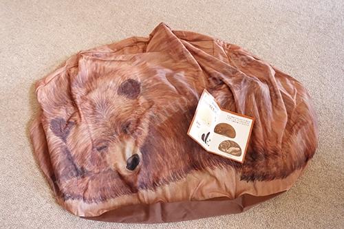 クマのクッションケース到着