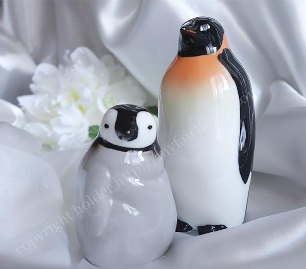 ペンギン親子の醤油さし