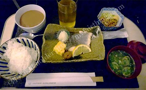 JALビジネス機内食・和食