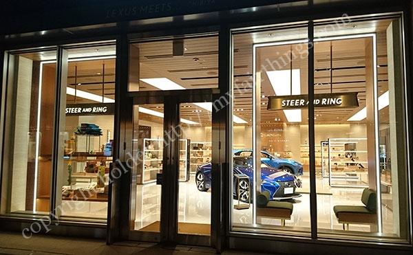 Lexusの店