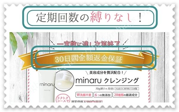 minaruクレンジングのラクトクコース