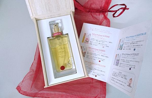 トコトワ香水レッドの中のカーネリアン